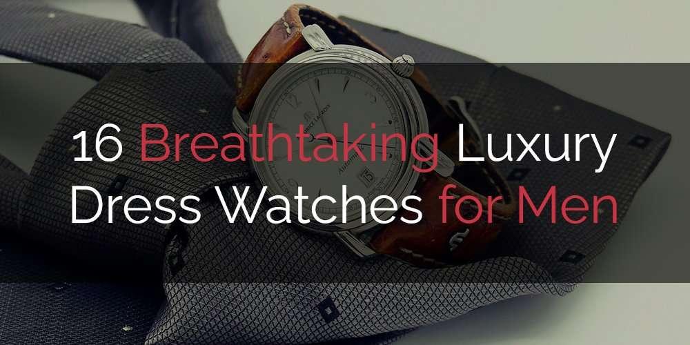 the gentleman's playbook list of the 16 best luxury dress watches for men